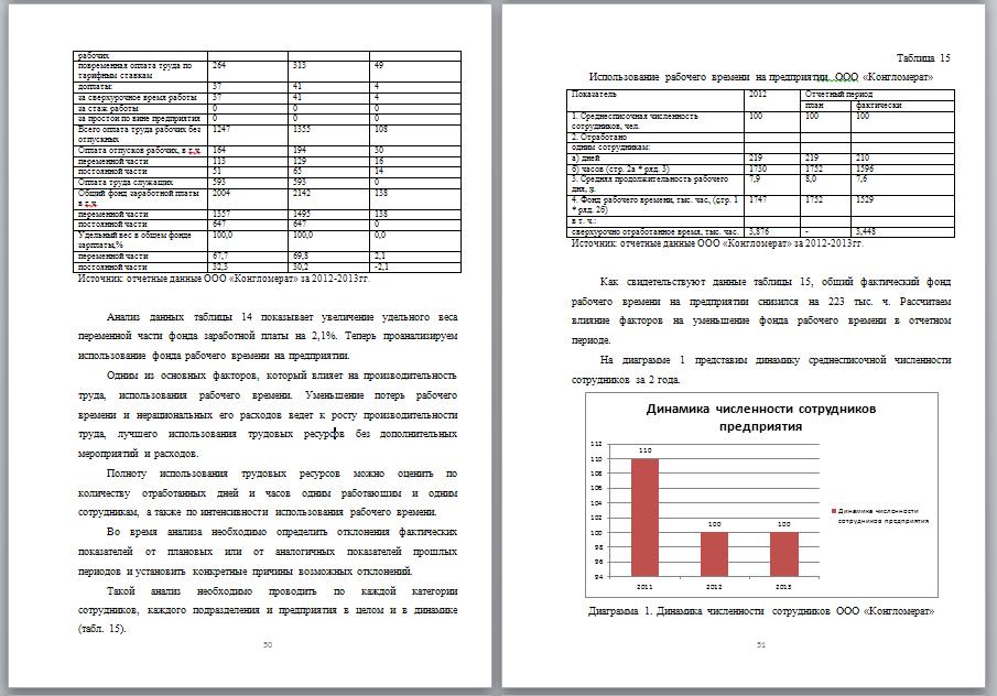 Дипломная Учет анализ и аудит оплаты труда на коммерческом  Скриншот дипломной работы